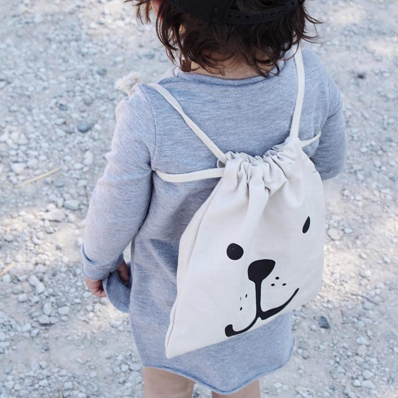 Kids Canvas Backpack