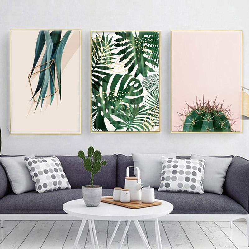 Tropical Desert Canvas Prints