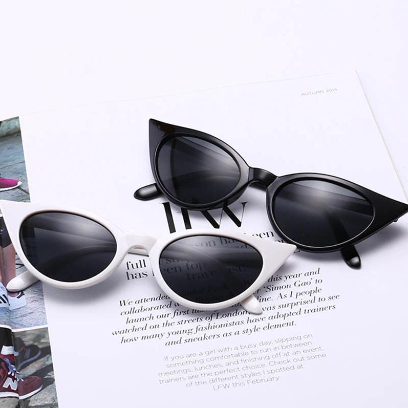 fe0f22cd328a Winged Cat Eye Sunglasses
