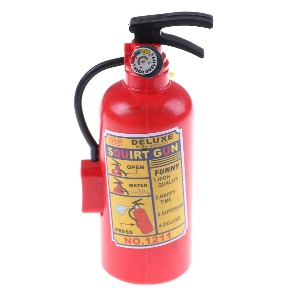 Fire Extinguisher Water Pistol