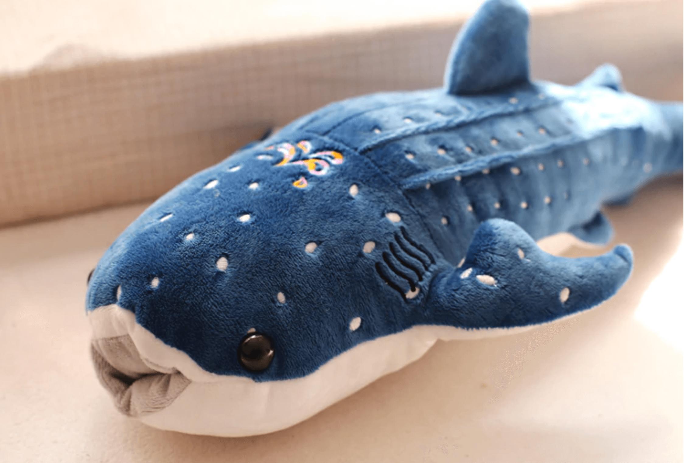 Giant Blue Whale Plush Toy