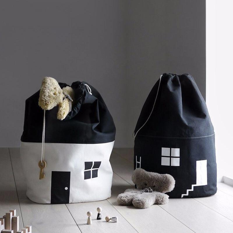 Nordic Baby Toy Storage Organizer