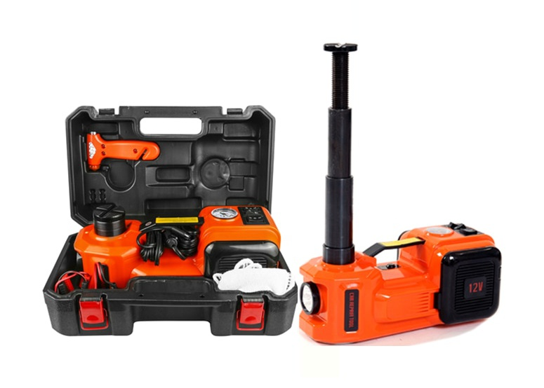 Electric Car Jack Kit With Air Compressor